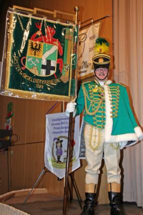 Franz-Willi Derondeau, Standarte, Prinzengarde